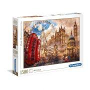 Clementoni 31807 High Quality Collection Puzzle - Londoni nosztalgia (1500 db-os)
