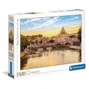Clementoni 31819 High Quality Collection puzzle - Sant'Angelo híd, Róma (1500 db)