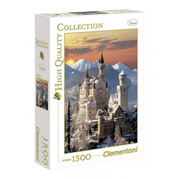 Clementoni High Quality Collection puzzle - Neuschwanstein (1500 db-os) 31925