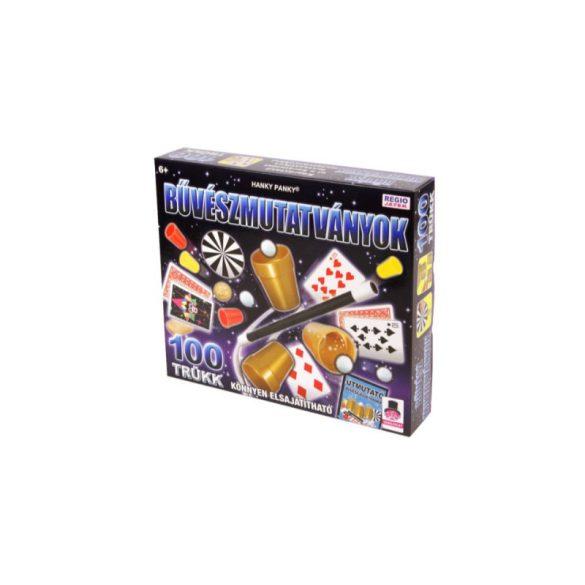 Magic Show bűvészdoboz - Csodálatos varázslat Különleges kiadás 100 trükk