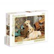 Clementoni 31976 High Quality Collection puzzle - Labrador kiskutyák (1500 db-os)