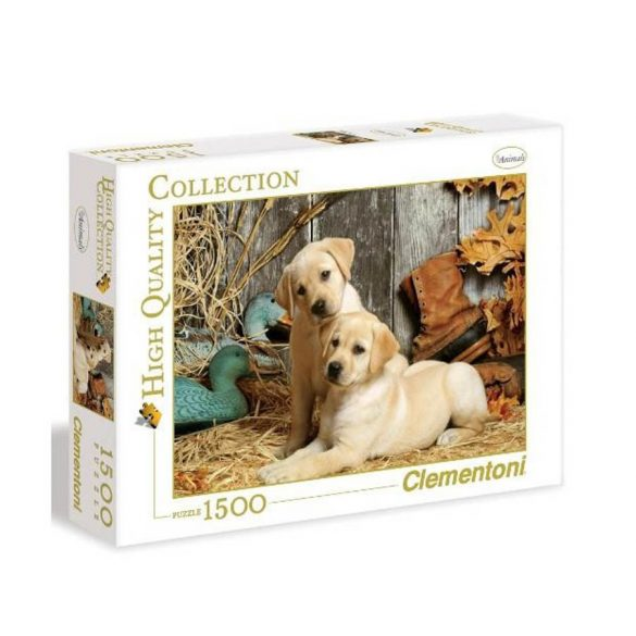 Clementoni 31976 High Quality Collection puzzle - Labrador kiskutyák (1500 db-os)