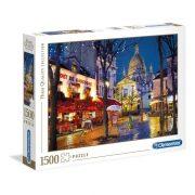 Clementoni 31999 High Quality Collection Puzzle - Montmartre, Párizs (1500db)