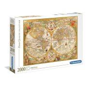 Clementoni 32557 High Quality Collection Puzzle - Antik térkép (2000db)
