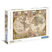 Clementoni 33531 High Quality Collection puzzle - Antik térkép (3000 db)