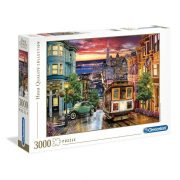 Clementoni 33547 High Quality Collection puzzle - San Francisco (3000 db)