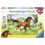 Ravensburger 08882 puzzle - Lovak (2x24 db-os)
