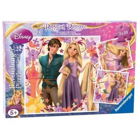 Ravensburger 09298 Disney puzzle - Aranyhaj és a nagy gubanc (3x49 db-os)