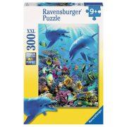 Ravensburger 13022 XXL puzzle - Víz alatti világ (300 db-os)