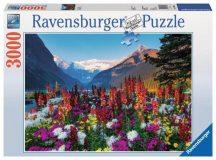 Ravensburger 17061 panorama puzzle - Virágzó hegyvidék (3000 db-os)
