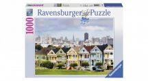 Ravensburger 19365 puzzle - Festett hölgyek, San Francisco (1000 db-os)