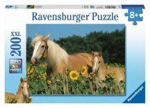 Ravensburger 12628 XXL puzzle - Lovak (200 db-os)