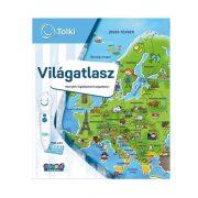Tolki - Világatlasz interaktív foglalkoztató könyv