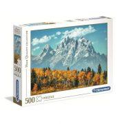 Clementoni 35034 High Quality Collection puzzle - Grand Teton õsszel (500 db)