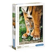 Clementoni 35046 High Quality Collection Puzzle - Bengáli tigris kölyök (500 db)