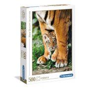 Clementoni 35046 High Quality Collection Puzzle - Bengáli tigris kölyök (500 db)