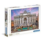 Clementoni 35047 High Quality Collection puzzle - Trevi-kút, Róma (500 db)