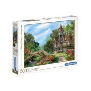 Clementoni 35048 High Quality Collection Puzzle - Villa a patakparton (500 db-os)