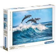 Clementoni 35055 High Quality Collection puzzle - Delfinek (500 db)