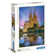 Clementoni 35062 High Quality Collection Puzzle - Sagrada Familia, Barcelona (500 db)