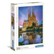 Clementoni 35062 High Quality Collection Puzzle - Sagrada Familia, Barcelona (500 db)