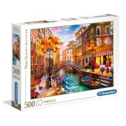 Clementoni 35063 High Quality Collection puzzle - Velencei napnyugta (500 db)