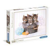 Clementoni 35065 High Quality Collection Puzzle - Cicamosdás (500db)
