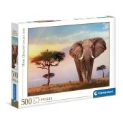 Clementoni 35096 High Quality Collection puzzle - Afrikai naplemente (500 db)