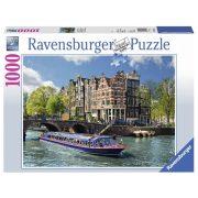 Ravensburger 19138 puzzle - Amszterdami túra (1000 db)