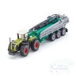SIKU 1827 Claas Xerion traktor locsolóval