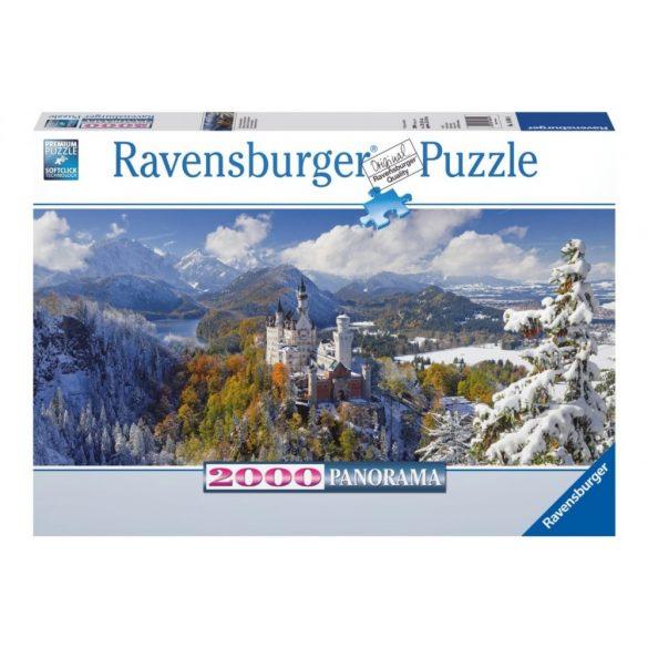Ravensburger 16691 panorama puzzle - Neuschwanstein (2000 db-os)