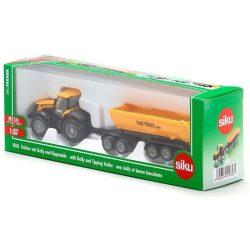 SIKU 1858 JCB traktor billenccsel