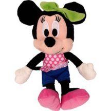 Walt Disney plüss MINNIE EGÉR figura farmerruhában 20 cm