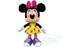 Walt Disney plüss MINNIE EGÉR figura csillagos ruhában 20 cm