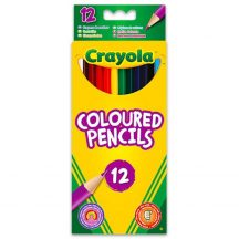 Crayola - hosszú színes ceruza - 12 db