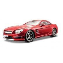 1:18 2012 Mercedes Benz SL63 AMG Hard Top autómodell