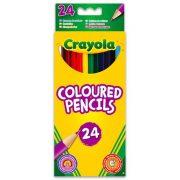 Crayola - hosszú, extra puha színes ceruza - 24 db