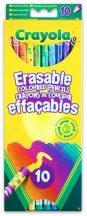 Crayola - Színes ceruza radírvégű / 10db