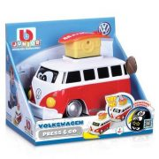 Bburago Junior VW Transporter T1 Press'n'Go mikrobusz