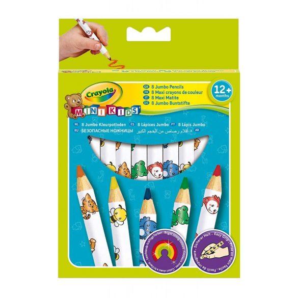 Crayola - állatmintás, vastag ceruza - 8 db