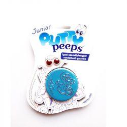 Putty Peeps Junior - METÁL intelligens gyurmalin szemekkel - KÉK