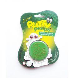 Putty Peeps Junior - SZÍNVÁLTÓS intelligens gyurmalin szemekkel - ZÖLD-CITROMSÁRGA
