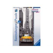 Ravensburger 15119 panorama vertical puzzle - Taxi New Yorkban (1000 db-os)