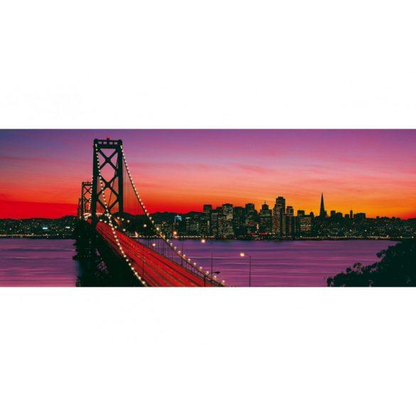 Ravensburger 15104 panorama puzzle - Oakland Bay híd, San Francisco (1000 db-os)