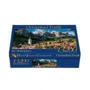 Clementoni 38007 High Quality Collection Puzzle - Sella, Dolomitok (13200db)