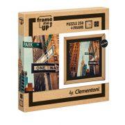 Clementoni 38502 Frame me up Puzzle kerettel - Egyirányú utcák New York (250 db)