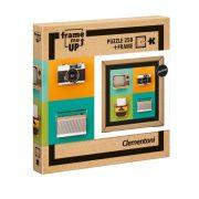 Clementoni 38506 Frame me up Puzzle kerettel - Retró készülékek (250 db)