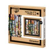 Clementoni 38507 Frame me up puzzle kerettel - Tokiói fények (250 db)