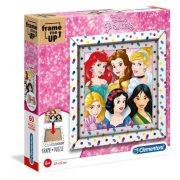 Clementoni 38805 Frame Me Up Puzzle kerettel - Disney hercegnõk (60 db)