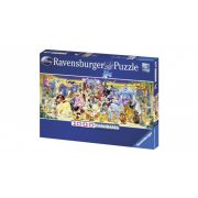 Ravensburger 15109 panorama puzzle - Disney csoportkép (1000 db-os)